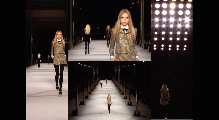 SAINT LAURENT : COLLECTION XI